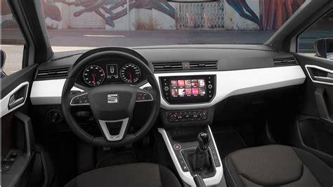 seat arona interieur prueba seat arona autobild es