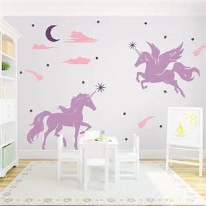 magical unicorns wall decal With unicorn wall decal