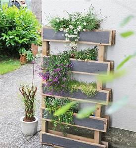Blumenkasten Aus Terrassendielen Selber Bauen : diy blumenkasten aus alter palette bauen bonny und kleid ~ Orissabook.com Haus und Dekorationen
