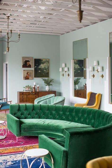 canapé vert le canapé d 39 angle arrondi comment choisir la meilleure