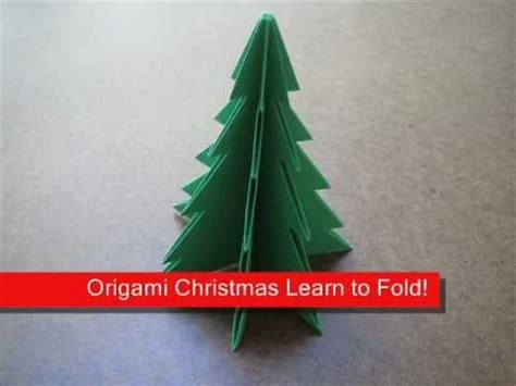 how to fold origami christmas tree origamiinstruction