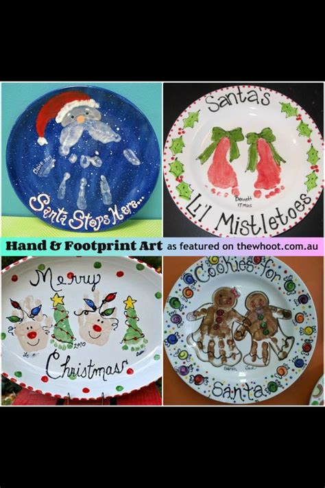 cute christmas craft ideas make a christmas plate every