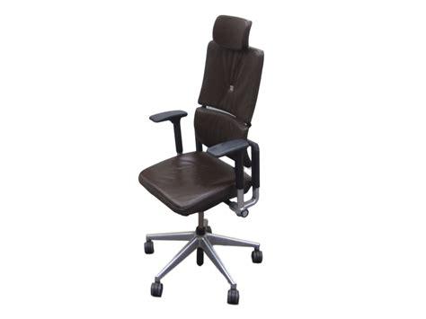 fauteuil de bureau steelcase steelcase cuir marron adopte un bureau