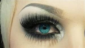 How to apply bottom false eyelashes - YouTube
