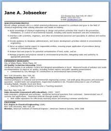 chemical engineering resume objective statement cv template chemical engineer