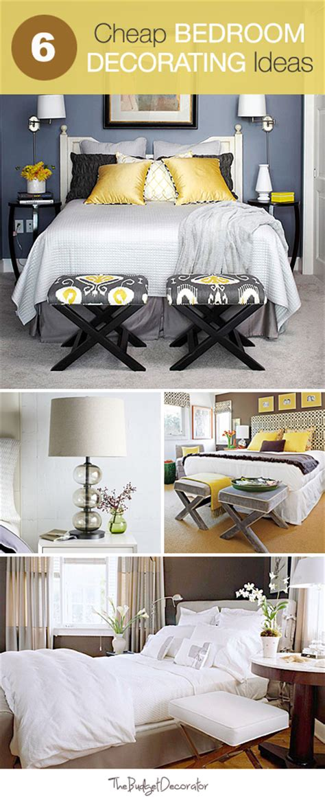 6 cheap bedroom decorating ideas also really like the