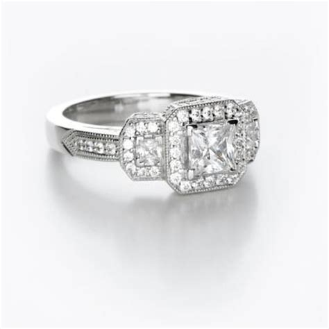 unique princess cut diamond ring photos lovetoknow
