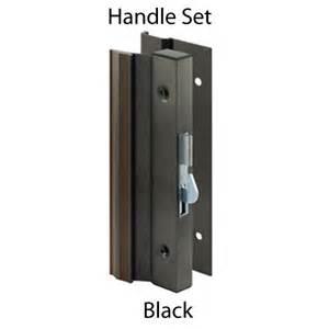 retro bronze sliding glass door handle