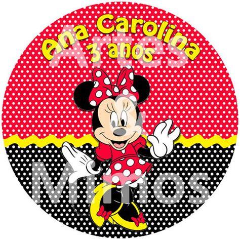 adesivo latinha minnie vermelha no elo7 artes mimos personalizados 2321ff