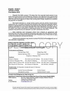 Teacher U0026 39 S Guide In English 4