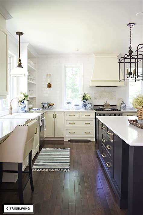 kitchen updates brass hardware pulls  faucet