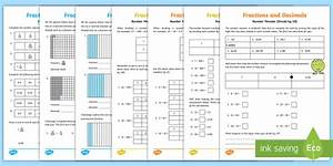 Fractions  Tenths And Hundredths Activity Pack