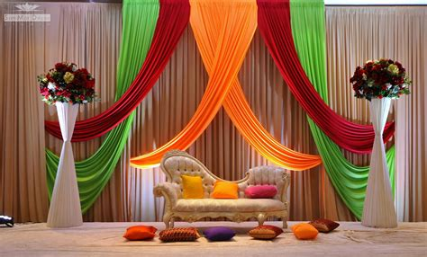 Indian Wedding Stage Decoration Idea
