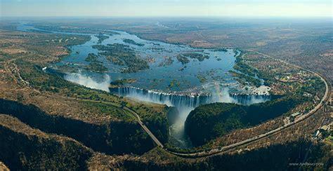 """Victoria Falls, Zambia and Zimbabwe border"