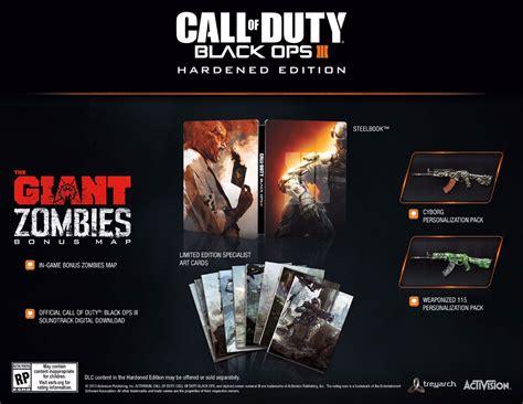 ops duty call edition hardened ps4 zombies juggernog iii editions digital fridge mini cod xbox map collector pc giant bo3