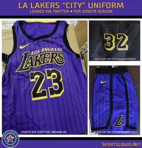 magical  la lakers city uniform leaked chris creamer