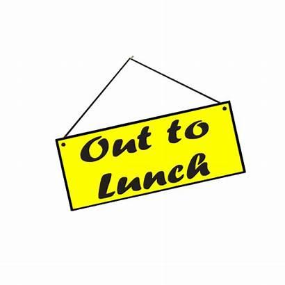 Lunch Sign Clipart Break Clip Luncheon Transparent