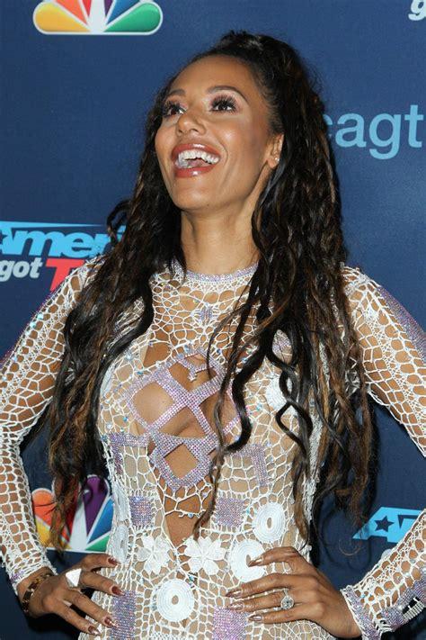melanie brown americas  talent season  semi finals  hollywood