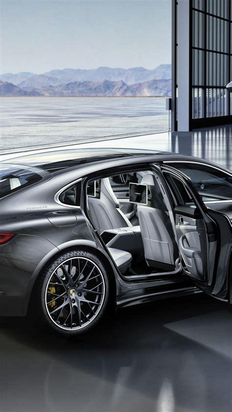 wallpaper porsche panamera turbo silver interior cars