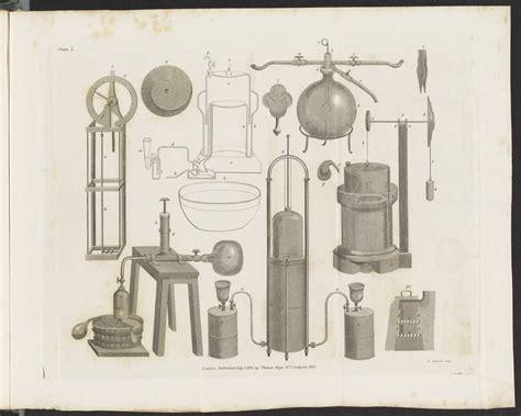 plate  hygrometer gasometers mephitic water apparatus