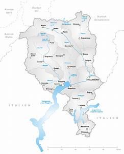 Tessin Karte Schweiz