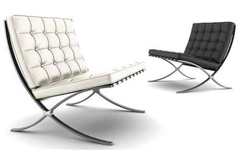 Poltrona Barcelona Knoll Misure : Wassily Chair E Barcelona Chair