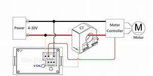Dc 100v U00b1 50a Voltmeter With Current Transformer Forward