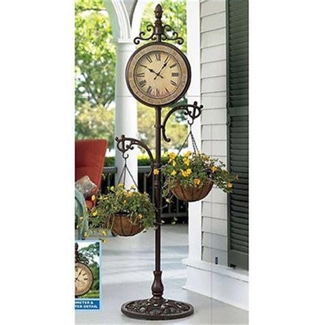 living home outdoors 15 quot x 20 quot cast iron outdoor clock