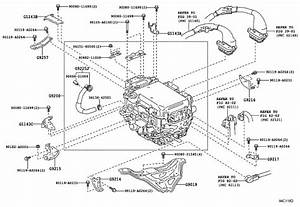 Toyota Camry Hose  Inverter Cooling  No  1  Electrical