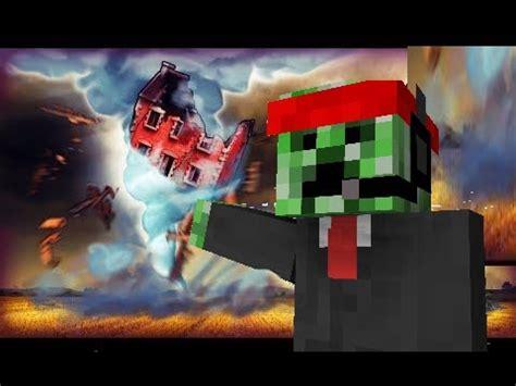 Minecraft  Realistic Tornado Base Challenge Tornado