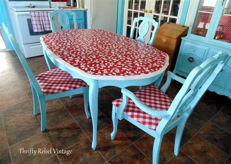 Repurposed Tablecloth Kitchen Chairs Makeover   Thrifty