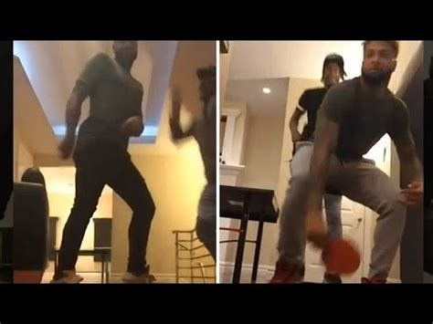 Odell Beckham Twerking Again With Girls Around