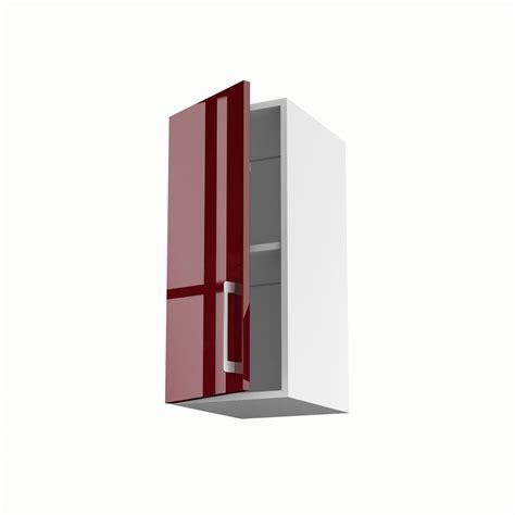 meuble cuisine largeur 30 cm meuble de cuisine haut 1 porte griotte h 70 x l 30 x