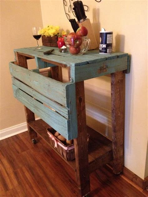 kitchen island as table pallet projects for kitchen pallet wood projects