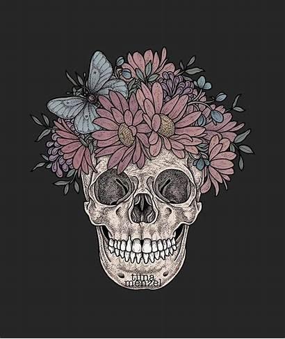 Skull Witchy Woman Tattoo Jeannie
