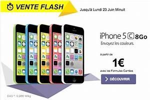 Telephone A 1 Euro : sfr propose l 39 iphone 5c partir de 1 euro ~ Melissatoandfro.com Idées de Décoration