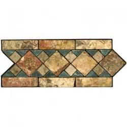 Decorative Stone Tile Border