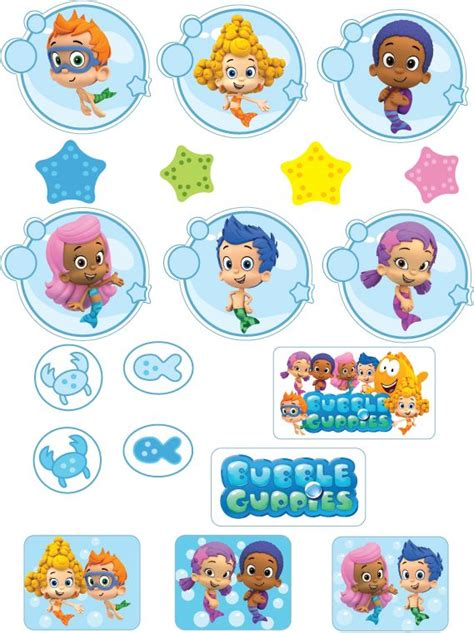 guppies cupcake decorations 25 best ideas about guppies cupcakes on