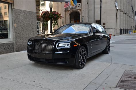 roll royce ghost 2017 rolls royce ghost black badge stock l406a for sale