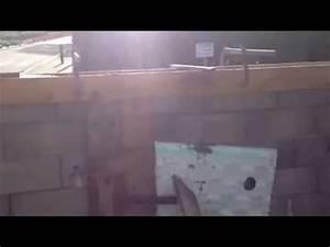 Reparer Grosse Fissure Mur Exterieur : r parer un mur fissur avec un poteau youtube ~ Melissatoandfro.com Idées de Décoration