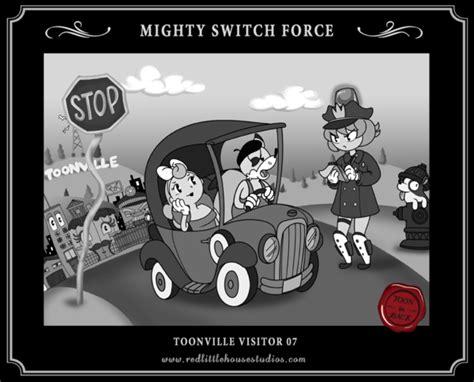 mighty switch force  redlittlehouse  deviantart