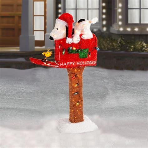 peanuts snoopy  woodstock  mailbox  animated pre