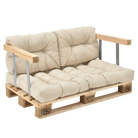 canape casa en casa canapé d angle en palettes 3x coussin de siège
