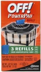 Powerpad Lantern Refills by S C Johnson Wax 02884 3 Pack Powerpad L Lantern
