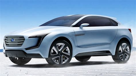 subaru viziv truck subaru viziv concept previews new suv design language