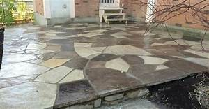 How To Dry Lay Flagstone