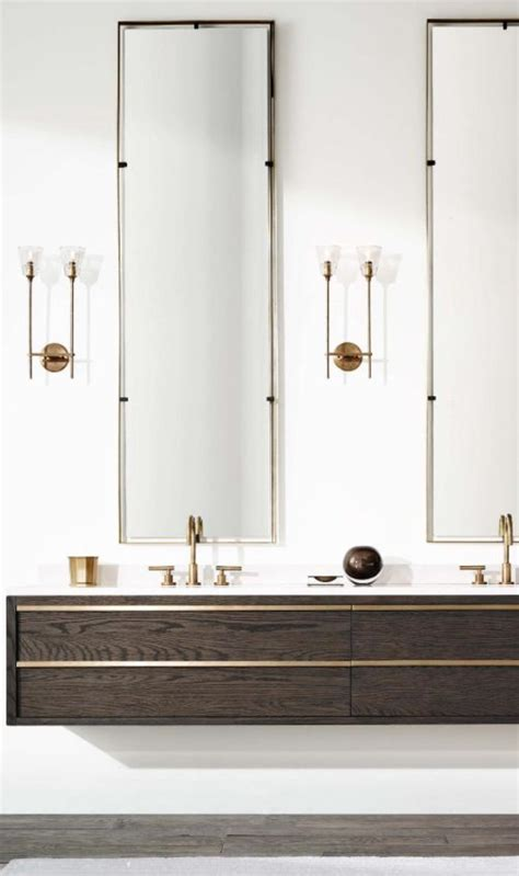 restoration hardware bathroom vanity mirrors 25 best ideas about floating bathroom vanities on