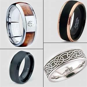 20 refreshingly unique wedding rings for men for Cool wedding rings men
