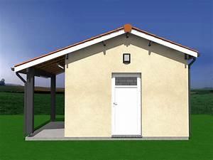 Construire Un Abri De Jardin En Parpaing : projet de construction abri de jardin auvent 20m2 ~ Melissatoandfro.com Idées de Décoration