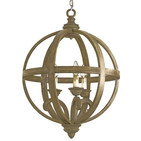 buy the axel orb chandelier small by currey company